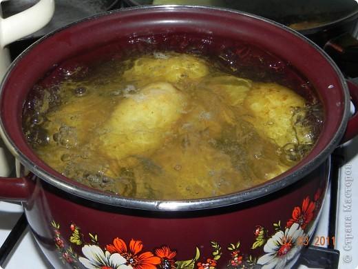 Оладьи картофельные и квашенной капустой фото 2