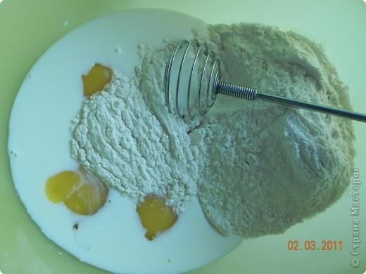 Оладьи картофельные и квашенной капустой фото 4