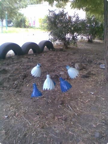 Украшали двор  фото 5