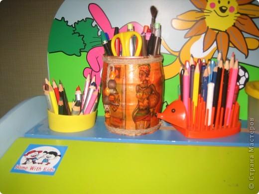 Стакан для карандашей фото 1