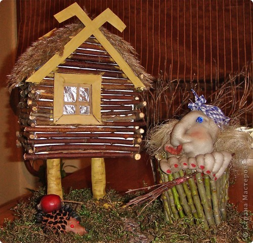 Вот моя работа на праздник осени в детский сад, Маняша собирала материал и помагала клеит. Это наша первая работа для СМ. фото 1