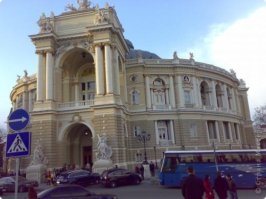 Наш красавец - Одесский  академический   театр оперы и балета ) очень знаменит!!!! фото 3