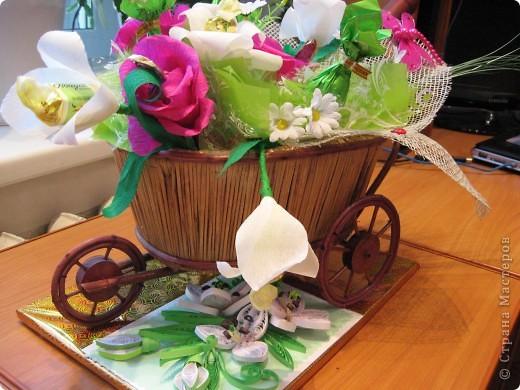лилии- повторюшки+сладкий букет фото 5