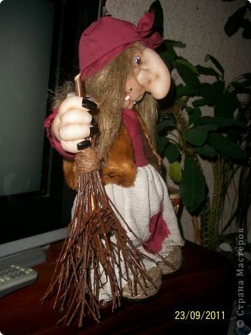 Кукла создана по образу моего дяди на его Д.Р. Рост 45 см. В руки вставится подарок))) фото 4