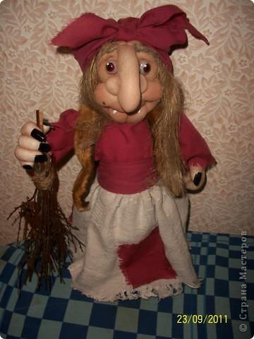 Кукла создана по образу моего дяди на его Д.Р. Рост 45 см. В руки вставится подарок))) фото 3