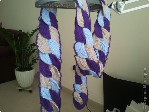 И как-то у меня связался шарфик.... фото 3