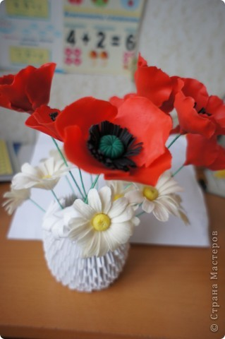 Девочки, налепила полевых цветов, хочу сделать букет. фото 4