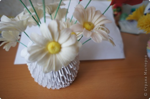 Девочки, налепила полевых цветов, хочу сделать букет. фото 6