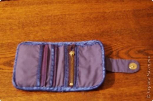 А это мой кошелек.Фотографии сделаны в разное время, поэтому такое качество фото 2