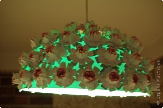 Украсила абажур в прихожей фото 1