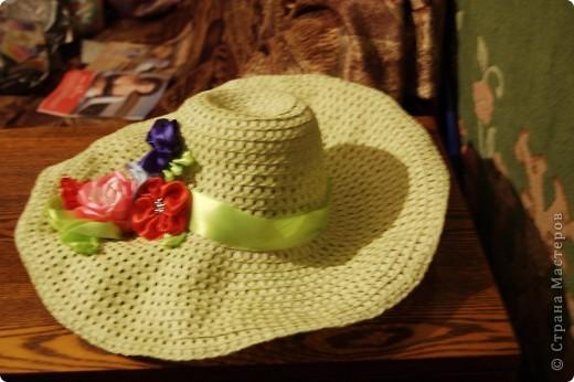 Вот и на моей шляпке появилась клумба фото 2