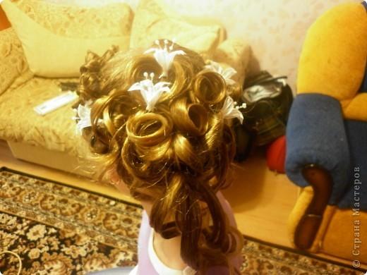 Прическа для девочки фото 3