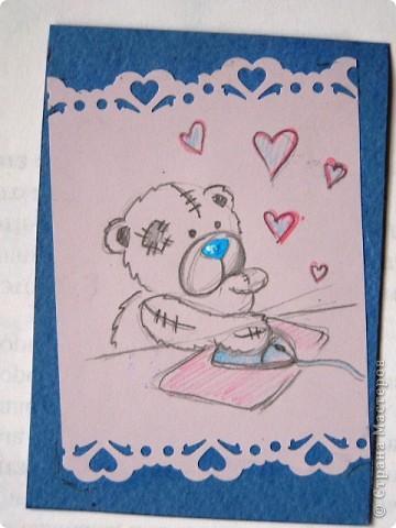 """мои АТСки все вмести, дело в том что я очень люблю мишек """"me to you"""", по этому решила сделать коллекцию АТС с мишками) фото 2"""