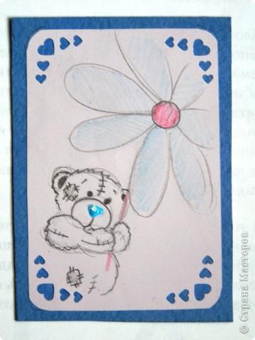 """мои АТСки все вмести, дело в том что я очень люблю мишек """"me to you"""", по этому решила сделать коллекцию АТС с мишками) фото 4"""