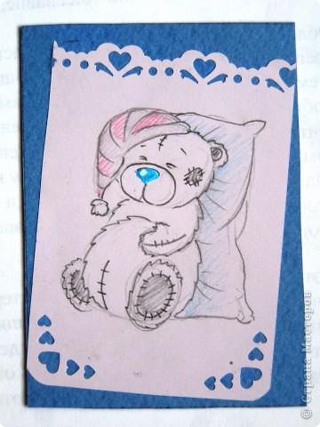 """мои АТСки все вмести, дело в том что я очень люблю мишек """"me to you"""", по этому решила сделать коллекцию АТС с мишками) фото 7"""