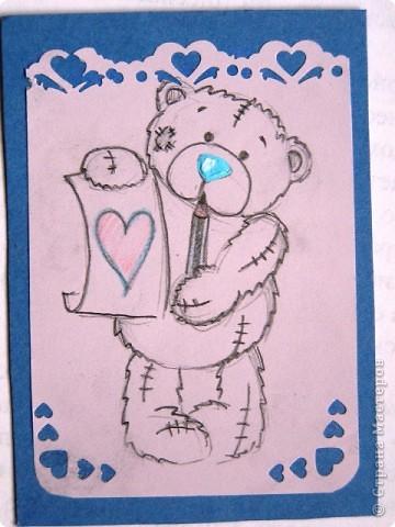"""мои АТСки все вмести, дело в том что я очень люблю мишек """"me to you"""", по этому решила сделать коллекцию АТС с мишками) фото 6"""