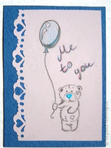 """мои АТСки все вмести, дело в том что я очень люблю мишек """"me to you"""", по этому решила сделать коллекцию АТС с мишками) фото 5"""