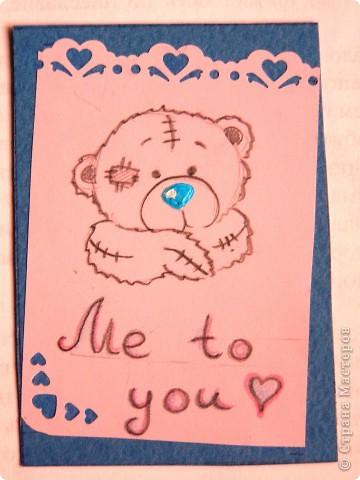 """мои АТСки все вмести, дело в том что я очень люблю мишек """"me to you"""", по этому решила сделать коллекцию АТС с мишками) фото 8"""