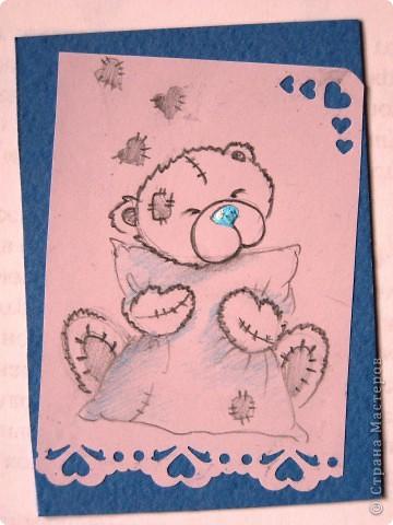 """мои АТСки все вмести, дело в том что я очень люблю мишек """"me to you"""", по этому решила сделать коллекцию АТС с мишками) фото 9"""