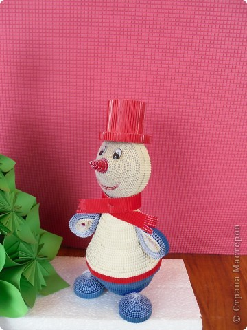 Снеговик у ёлочки. фото 2