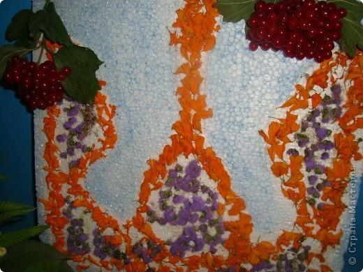 В нашей школе проходила выставка цветов посвященная 20 годам независимости Украины. Первую работу на ваш суд выношу моей дочки Насти (конечно под маминым руководством). фото 9