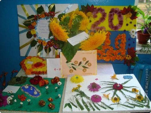 В нашей школе проходила выставка цветов посвященная 20 годам независимости Украины. Первую работу на ваш суд выношу моей дочки Насти (конечно под маминым руководством). фото 2