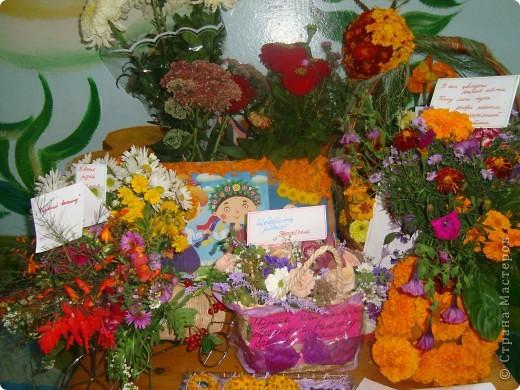 В нашей школе проходила выставка цветов посвященная 20 годам независимости Украины. Первую работу на ваш суд выношу моей дочки Насти (конечно под маминым руководством). фото 12