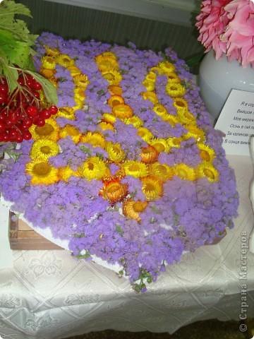 В нашей школе проходила выставка цветов посвященная 20 годам независимости Украины. Первую работу на ваш суд выношу моей дочки Насти (конечно под маминым руководством). фото 37