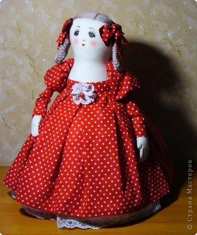 кукла-грелка Маша.