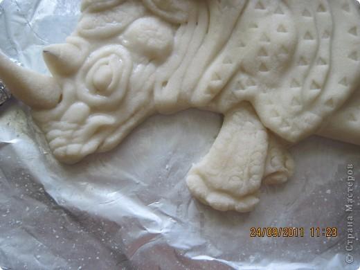 Попросили сделать носорога, как логотип предприятия. Вот что получилось. Прототипом послужила картинка с носорогом Семенченко Виталия. Нашла в интернете. фото 6