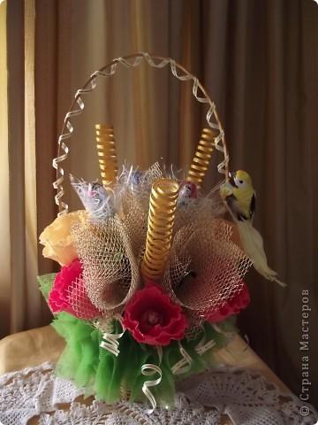 """букет из конфет """"Осенняя песня"""" фото 1"""
