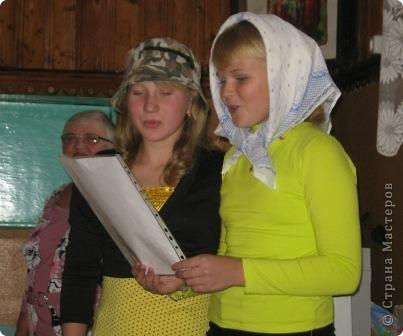 В школе у нас прошел Осенний бал, точнее посиделки. фото 9