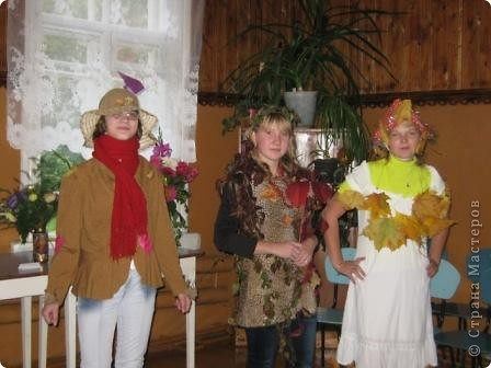 В школе у нас прошел Осенний бал, точнее посиделки. фото 11