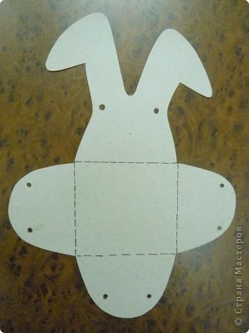 Коробка-зайчик фото 2