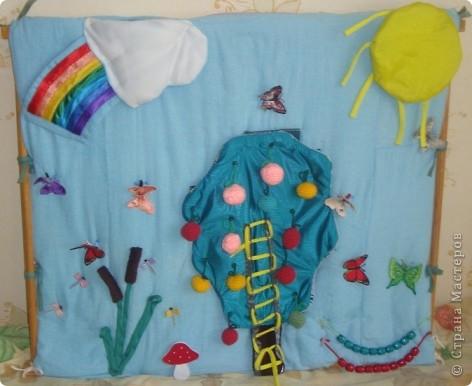 Вот такой коврик я сделала для садика в группу дочери. Основная функция коврика: мелкая моторика. фото 1