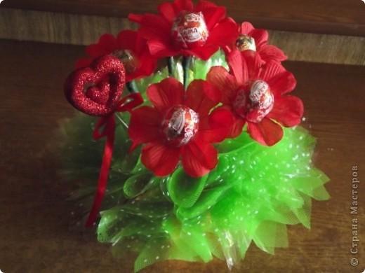 """букет из конфет """"Осенняя песня"""" фото 3"""
