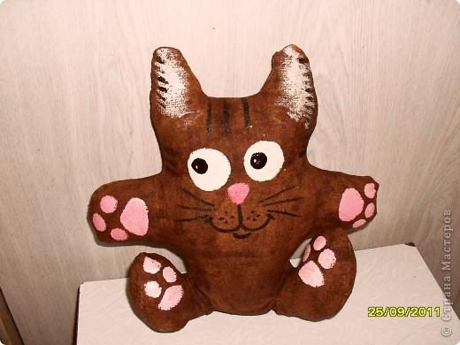 Чердачный котик