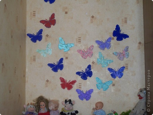 бабочки в детскую комнату фото 1