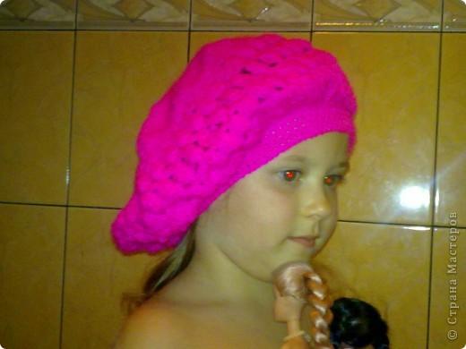 шапочка для дочки фото 2