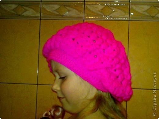 шапочка для дочки фото 3