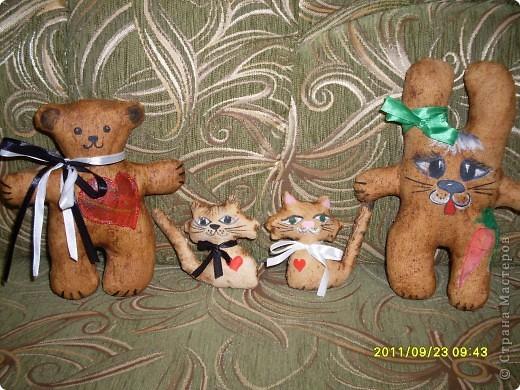 """Давно хотела попробовать сделать ароматические текстильные игрушки. Вот - """"проба пера""""!  фото 1"""