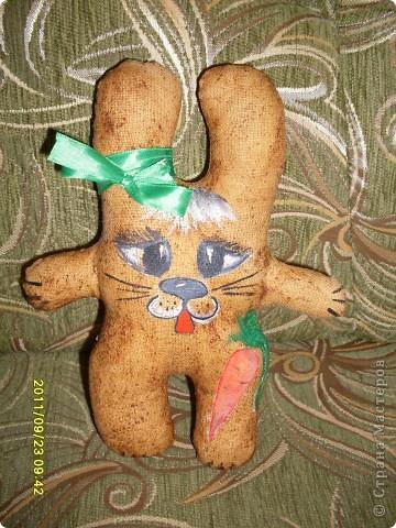 """Давно хотела попробовать сделать ароматические текстильные игрушки. Вот - """"проба пера""""!  фото 2"""