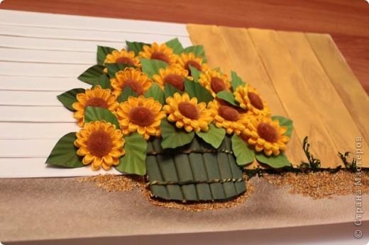 Осень вступила в свои права, а так еще хочется солнечных деньков. Теперь у меня их будет больше благодаря этой картине. фото 2