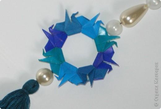 """Всем привет!  Меня недельку не было, а у вас тут столько красивого появилось!  Dodecahedron var. by Tomoko Fuse Идею брала из книги """"Unit origami essence"""", с. 126-127 фото 11"""