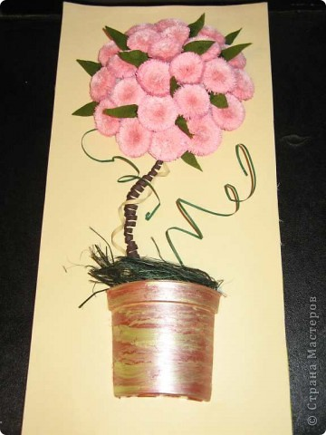 Моё розовое дерево. Пока без рамочки фото 1