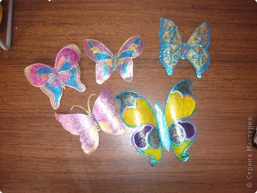 не знаю как можно назвать эту технику. Сейчас я расскажу,как делаю вот таких бабочек....рассмотрим каждую отдельно.... фото 1