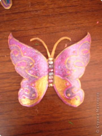 не знаю как можно назвать эту технику. Сейчас я расскажу,как делаю вот таких бабочек....рассмотрим каждую отдельно.... фото 5
