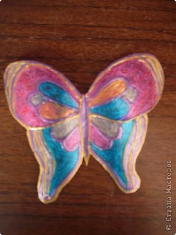 не знаю как можно назвать эту технику. Сейчас я расскажу,как делаю вот таких бабочек....рассмотрим каждую отдельно.... фото 3