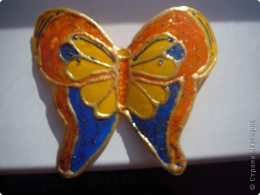 не знаю как можно назвать эту технику. Сейчас я расскажу,как делаю вот таких бабочек....рассмотрим каждую отдельно.... фото 14