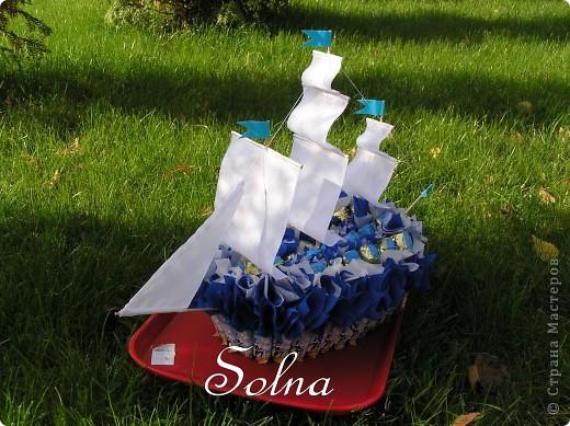 Кораблик в подарок на день рождения. фото 2
